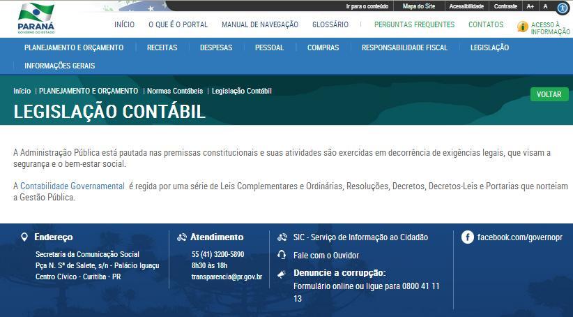 Legislacao Contábil