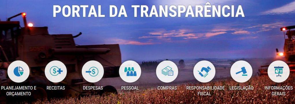 Esta imagem possui os assuntos disponiveis para consulta no Portal da Transparência do Estado do Paraná.